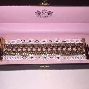 Juicy Couture multi stand bracelet!